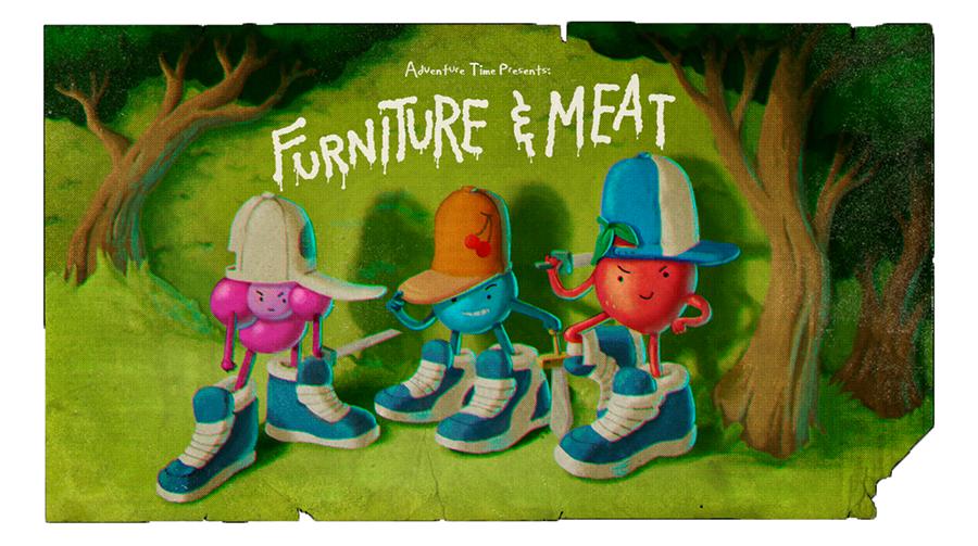 Hora de Aventura: Móveis e Carnes