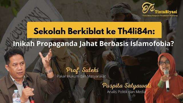 Sekolah Berkiblat ke Th4li84n: Inikah Propaganda Jahat Berbasis Islamofobia?