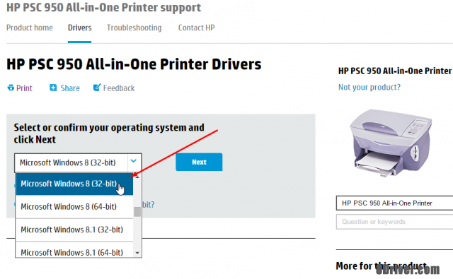 download HP PSC 1315v All-in-One Printer driver 2