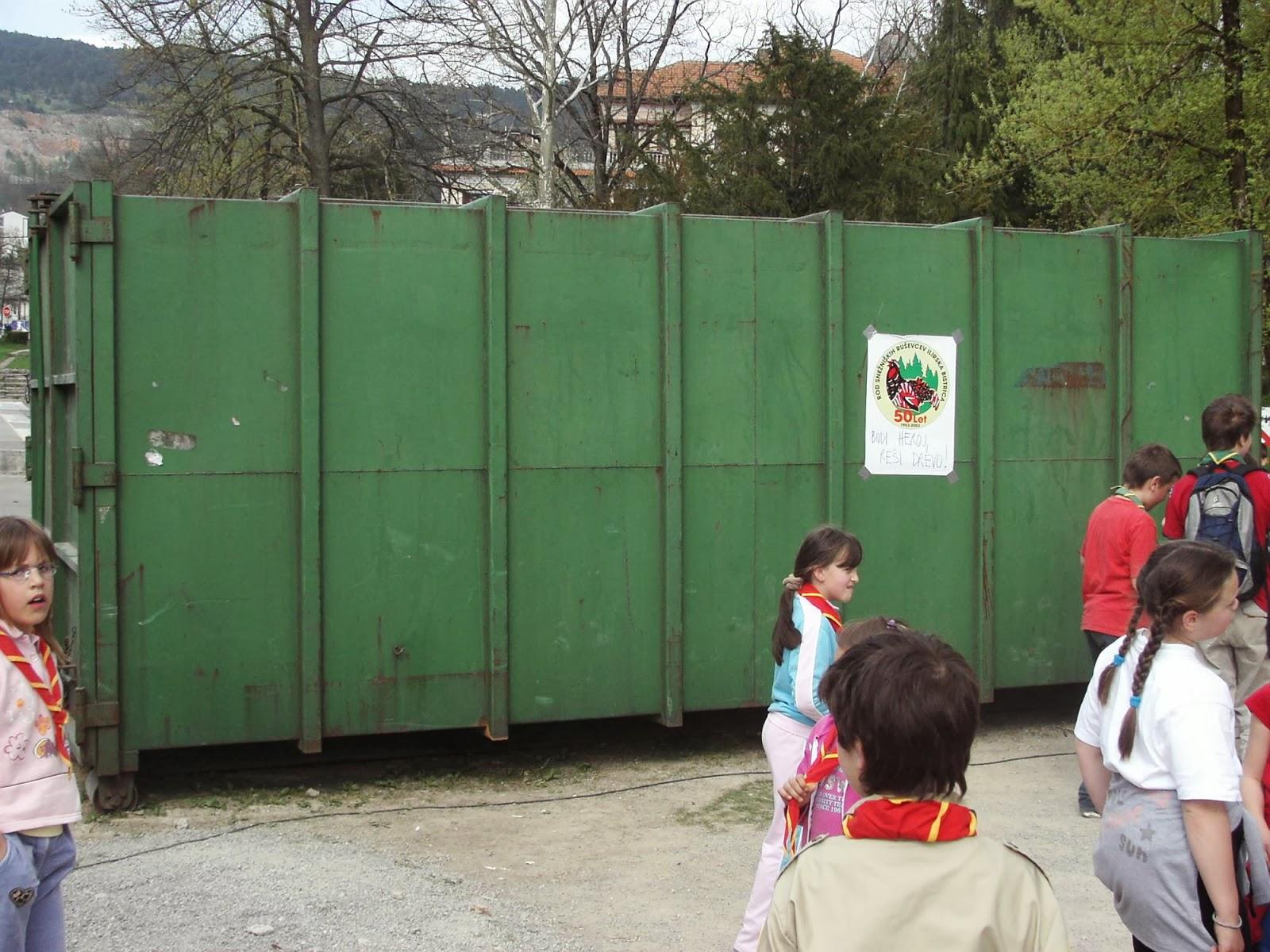 Zbiranje papirja, Ilirska Bistrica 2006 - KIF_8522.JPG