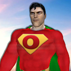 Grand Superhero Flying Robot City Rescue Mission icon