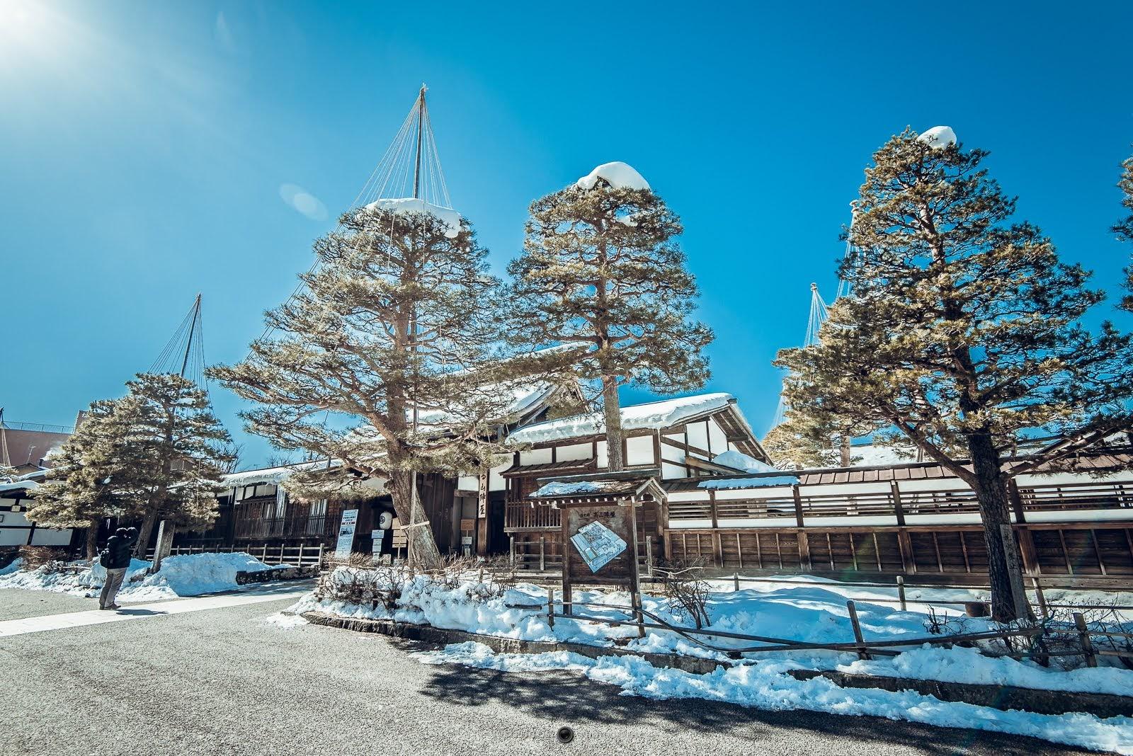 [日本] 高山市一日遊 高山市區4大景點地圖&交通方式 - 大男孩的相機旅行