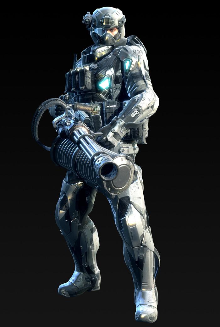 Tạo hình nhân vật trong Metro Conflict - Ảnh 2