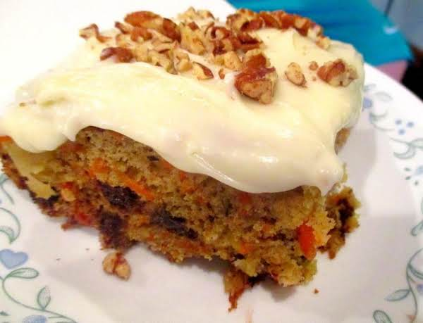 ~ Carrot Cake Surprise ~ Citrus Frosting