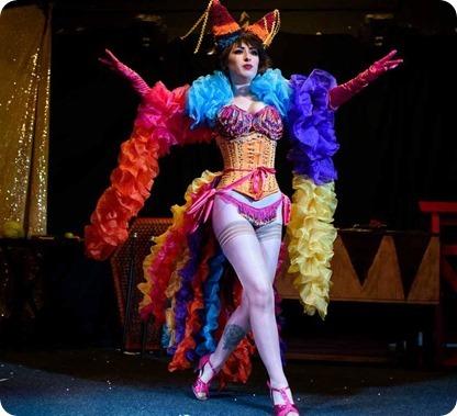 3 - Steampunk burlesque entertainment