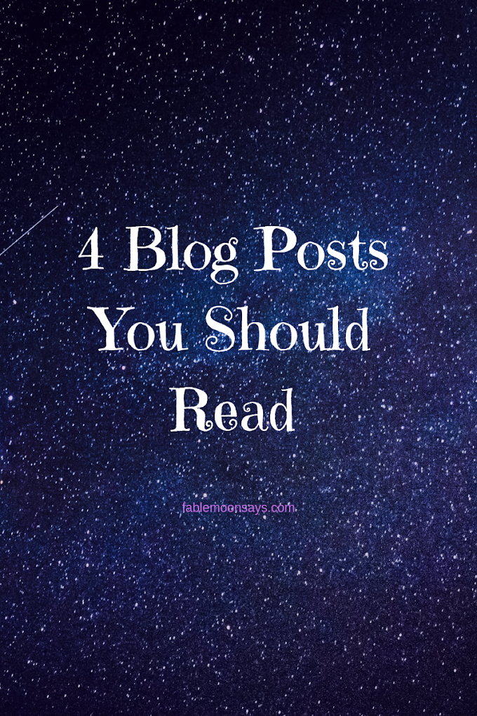 4 Blog Post You Should Read Right Now