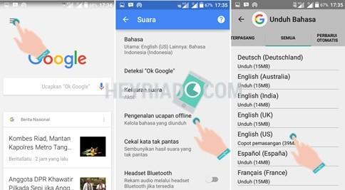 Cara memakai ok google offline di Android Cara Menggunakan Ok Google Offline di Android