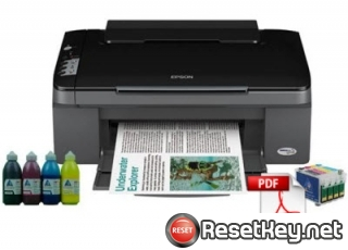 Reset Epson TX200 printer Waste Ink Pads Counter