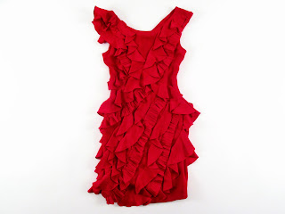 Marchesa Notte Red Dress