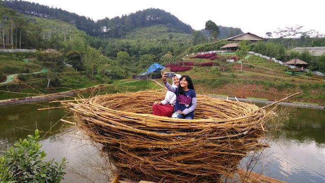 Piknik Lebaran Di Ciamis Ke Situ Gunung Aja Ciamis Info
