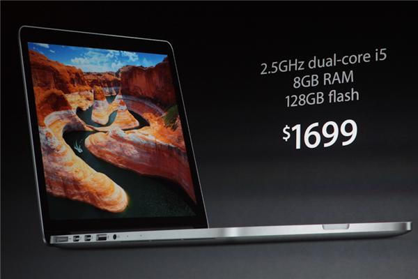 13.3インチMacBook Pro Retinaディスプレイモデル