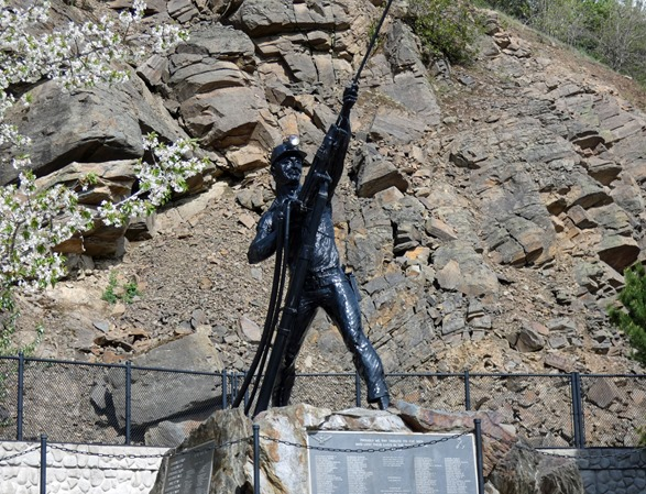 Miner Monument