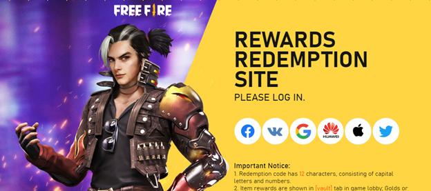 Kode Redeem Free Fire Gratis Februari 2021