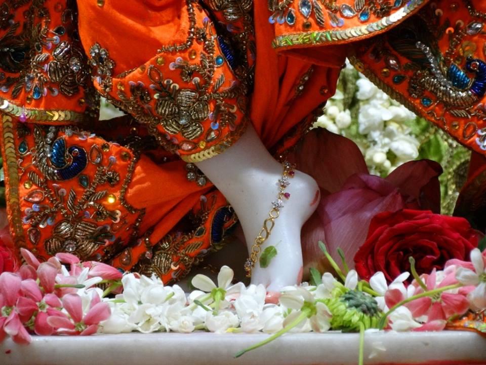 ISKCON Punjabi Bagh Deity Darshan 09 April 2016 (2)