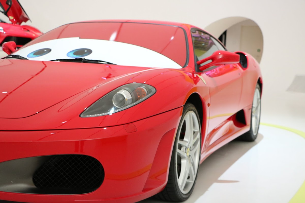 Modena - Enzo Museum 0097 - 2004 Ferrari F430 (Cars).jpg