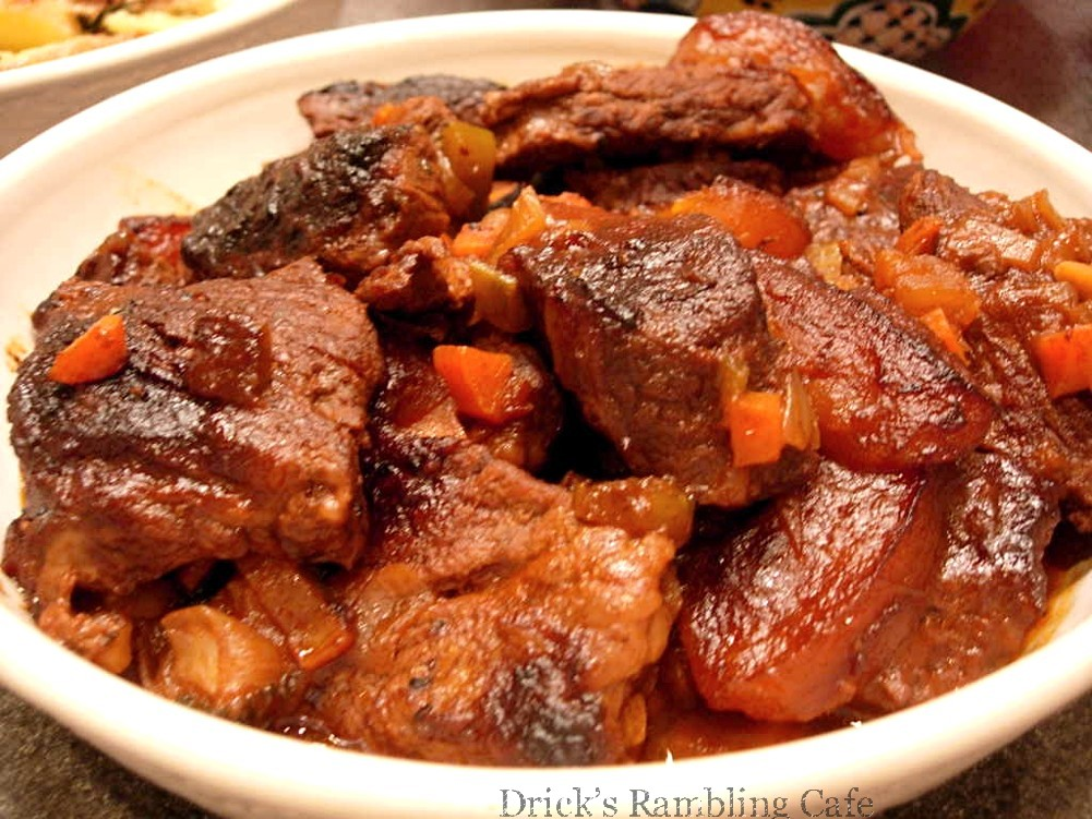 Braised Beef Short Ribs (Boneless) ~ Drick's Rambling Cafe