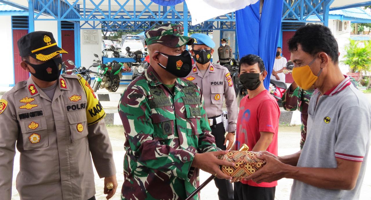 Operasi Yustisi, Dandim Tenggarong dan Kapolres tekankan Prokes serta penerapan PPKM