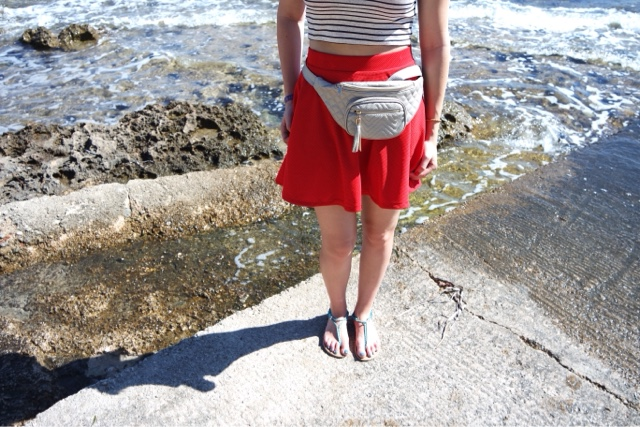 Coral Sunset OOTD Primark