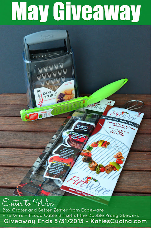 May Giveaway - Edgeware & Fire Wire Grilling Tools via KatiesCucina.com