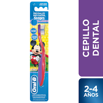 Cepillo Dental Oral-B Pro-Salud Stages Mickey Mouse 1 Unidad