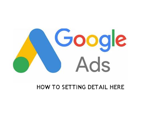 Google Ads Setting