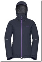Jack Wolfskin 3 in 1 Jacket with Quilted removable Lining