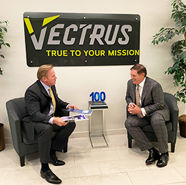 Vectrus President, CEO Chuck Prow Receives Wash100 Award for Sixth Time