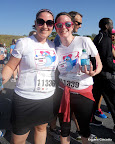 Julie and I immediately post race. Pink Warriors!