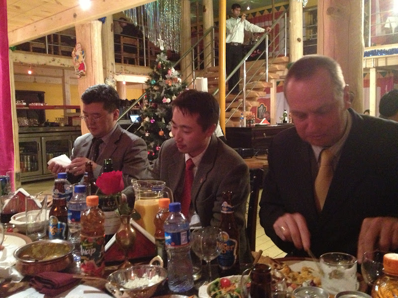 Mozzies Board members were invited for AusTrade/Australian Consulate dinner to farewell David Lawson and welcome Tony Burchill.