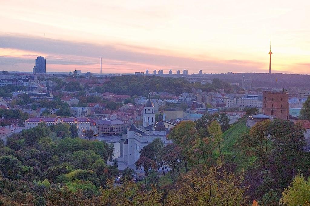 Qué ver en Vilna. Vistas de Vilna