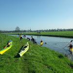 023-We varen met de Biesboschbevers de Openingstocht van het zomerseizoen-2017 op de Mark.