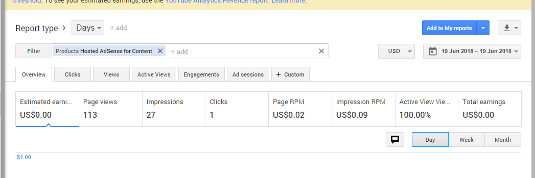 My Adsense earnings are not updating from 19 June  - AdSense