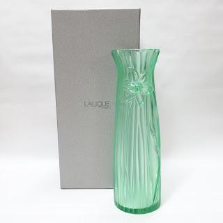 "Lalique 10.5"" NEW Vase"