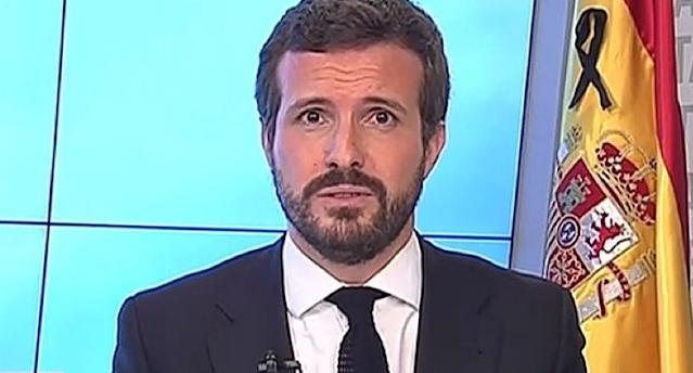 Pablo Casado. TV