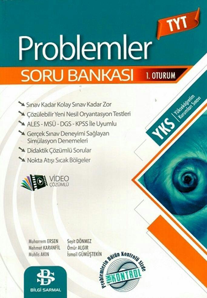 Bilgi Sarmal Yayınları YKS TYT Problemler Soru Bankası