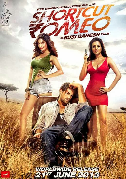 Poster Of Hindi Movie Shortcut Romeo (2013) Free Download Full New Hindi Movie Watch Online At Alldownloads4u.Com