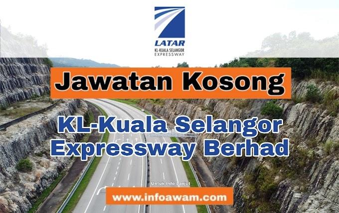Jawatan Kosong Terkini Di KL-Kuala Selangor Expressway Berhad
