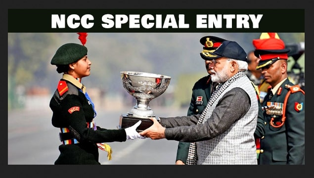 NCC Special Entry
