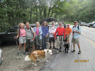 August 19, 2017 hikes
