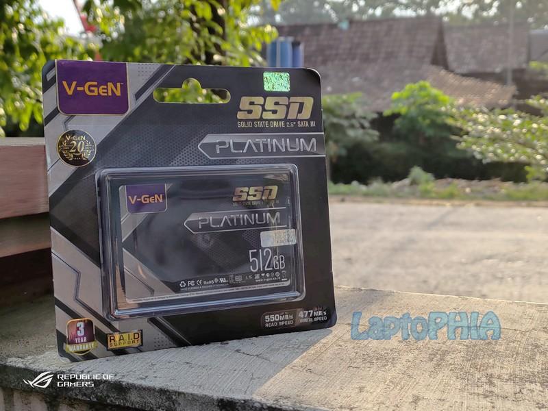 Review VGen Platinum 512GB SSD