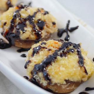 Crab Stuffed Mushrooms with Balsamic Glaze Recipe