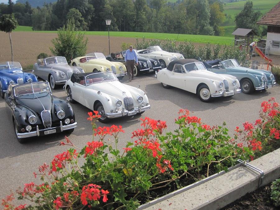 Oldtimertreffen, Ausflug ins Kurhaus Ohmstal 8.8.2015