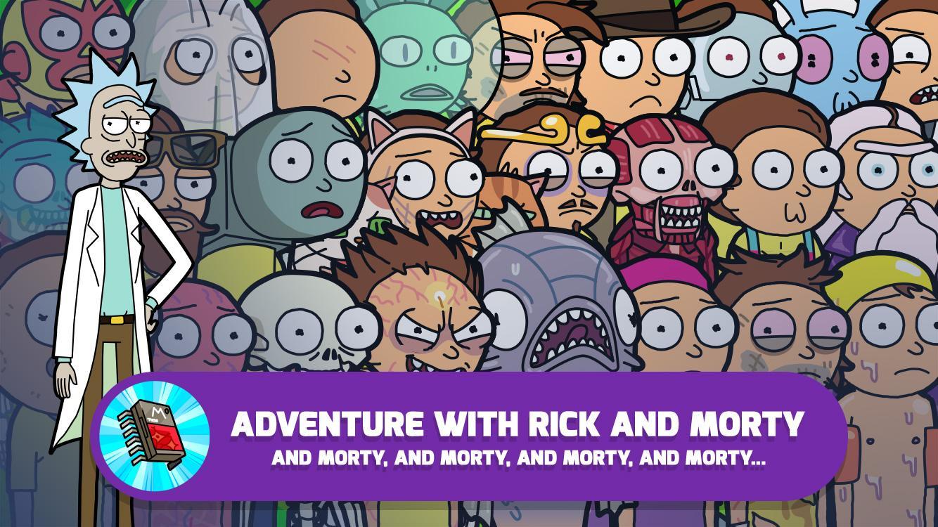 Pocket Mortys screenshot #2