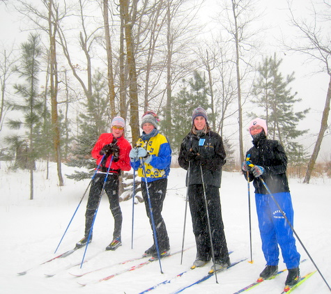 Wayzata skiers enjoying the fresh snow.