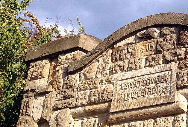 Wasserbehälter Engelstadt von 1905