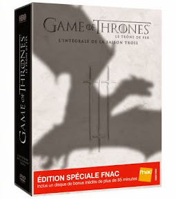 Game of Thrones DVD Saison 3 édition spéciale
