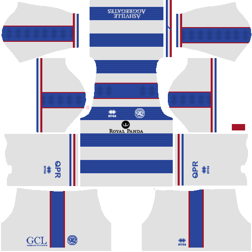 FTS 15 Kit Thai League: Queen Park Rangers FC Kits 2018-2019