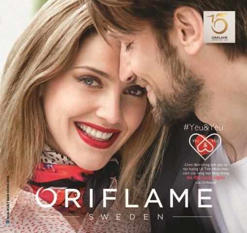 Catalogue mỹ phẩm Oriflame 2-2018