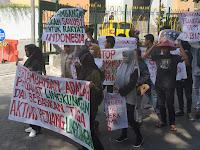 *Aksi Serentak* Mengecam PEMDA BIMA Usir PT.JMK dan Bebaskan 3 Aktivis Anti Tambang