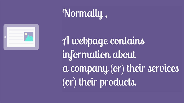 what-is-a-webpage